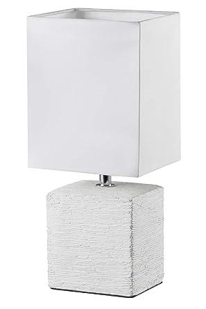 Reality Ping -Lámpara de sobremesa para interior. Incluido interruptor de cable. Necesaria 1 bombilla E14 de máximo 40W excluida. Base de cerámica y ...