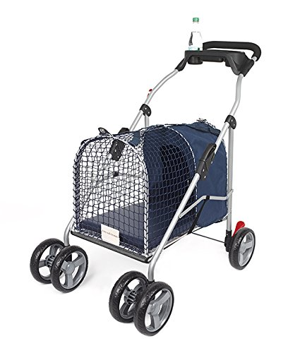 Kittywalk 5Th Ave Luxury Pet Stroller Suv - Blue