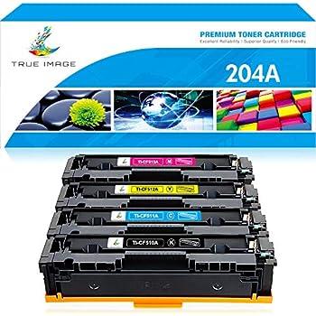 4PK CF510A Black Toner Cartridge For HP 204A Color LaserJet M154nw M180nw M181fw