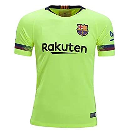 best website ce6c1 e2245 Imported Barcelona Away Replica 2018-2019 Jersey kit for Adults - Men &  Boys T Shirt and Shorts Jersey Set with All Logos in Place.