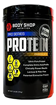 Body Shop Nutrition – Ultra Pure 100 Native Whey Pro Series Protein Powder – Cleanest Protein Available – Low Carb Low Calorie – Chocolate – 2lbs