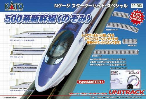 [N N500 Shinkansen Starter Set] (Miss Kato Costume)