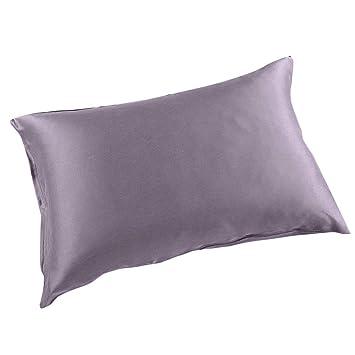 d1d659d784 THXSILK Silk Pillowcase for Hair and Skin-22 Momme Mulberry Silk Pillow  Cover with Hidden