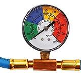 R134A Recharge Measuring Hose Gauge System
