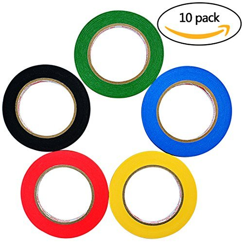 "7pcs 1//8/"" Whiteboard Tape Lines Graphic Chart Tape Grid Marking Gridding Tapes"