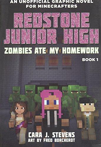 Zombies Ate My Homework (Redstone Jr. High #1) (Turtleback School & Library Binding Edition) (Redstone Junior High)