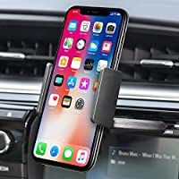 Bestrix Universal CD Slot Smartphone Car Mount Holder for iPhone X, 8, 7, 6, 6S Plus 5S, 5C, 5, Samsung Galaxy S5, S6, S7, S8, Edge/Plus Note 4,5,8, LG G4, G5, G6, V30 all smartphones up to 6