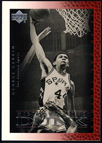 1999-00 (2000) Upper Deck Legends Basketball #53 George Gervin San Antonio Spurs Official UD NBA Trading Card
