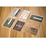LONG TAO 12PCS A5 6 Holes Loose Leaf Notebook