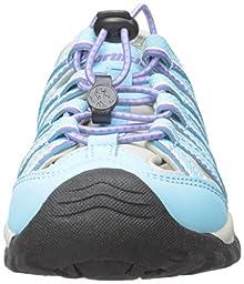 Northside Santa Cruz Clossed Toe Sandal (Little Kid/Big Kid), Blue/Purple, 4 M US Big Kid