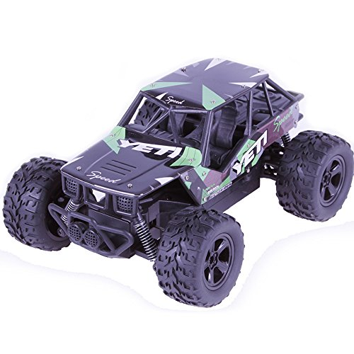 Remote Control Car, Kid Toys for Boys Girls, YJM 2018 2.4GHZ 2WD Radio Remote Control Off Road RC RTR Racing Car Truck GN