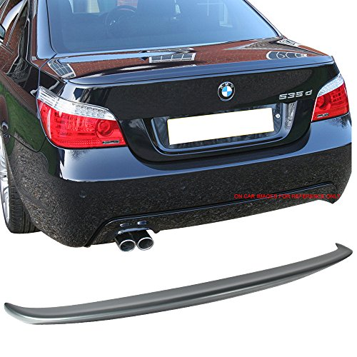 Pre-painted Trunk Spoiler Fits 2004-2010 BMW 5 Series for sale  Delivered anywhere in USA