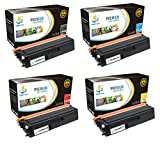 Catch Supplies TN433 TN-433 4-Pack Bundle Premium Replacement Toner Cartridge Compatible with Brother HL-L8260CDW, L8360CDW L8360CDWT MFC-L8610CDW L8900CDW Printers |Black, Cyan, Magenta, Yellow|