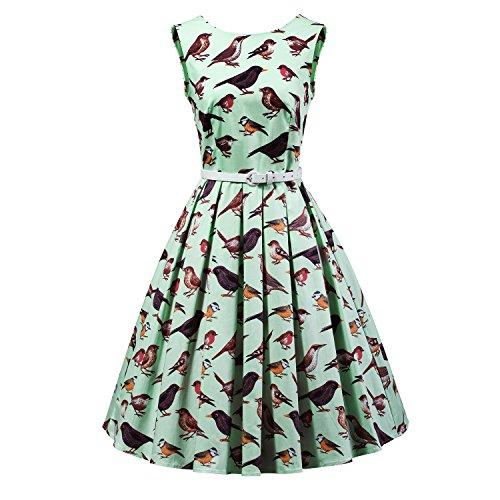 2 birds bridesmaid dresses - 7