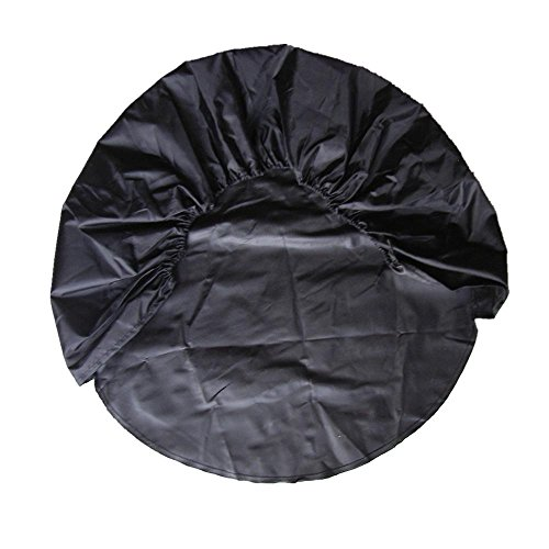 4XBlack Oxford Cloth Fabric Car Pickup Wheel Tire Protection Bag Cover Raincover by Generic (Image #1)