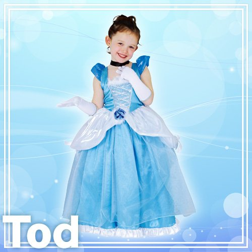 Disney Deluxe Cinderella Costume -- Child Toddler Size by STEAMPUNK (Image #1)