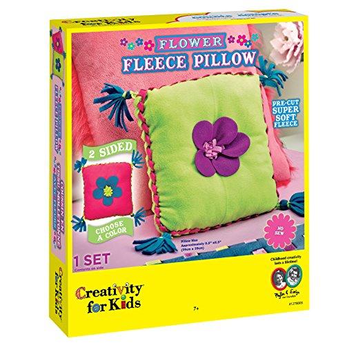 Creativity for Kids Flower Fleece Pillow Kit ()