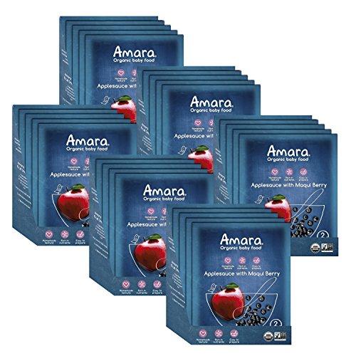Amara Applesauce Healthy Organic Pouches