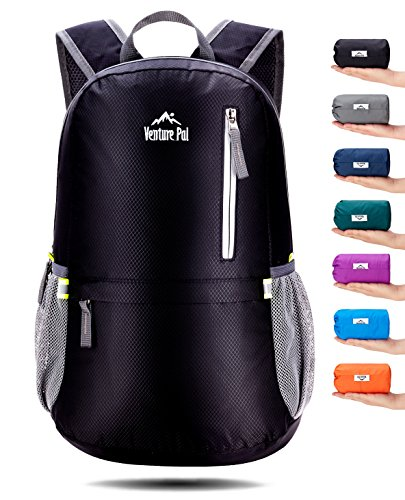 Venture Pal 25L Travel Backpack – Durable Packable Lightweight Small Backpack for Women Men – DiZiSports Store