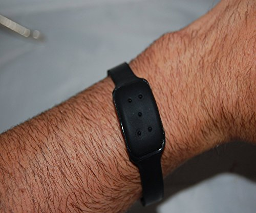 Bellus Mosquito Repellent Wrist/Ankle Bands 10 Pack Black, for Kids and Adults, University Tested, Water-proof, Non-toxic, Effective 4-6 Weeks, Adjustable Strength, SAY GOODBYE TO SPRAYS AND DEET! by Bellus (Image #1)