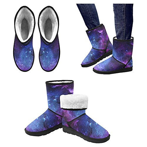 Scarponi Da Neve Womens Interestprint Stivali Invernali Comfort Dal Design Unico Multi 17