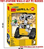 TOY-STATION - LEGOO STYLE BLOCKS ( LIMITED EDITION ) (WALL-E (687 PIECES) LEGO TYPE BLOCKS)