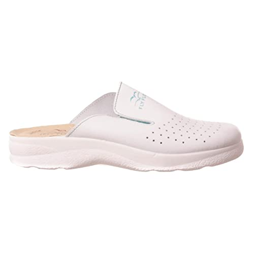 best service 74818 5d3f1 Fly Flot Ciabatte sanitarie bianco anti shock anatomiche donna 81474