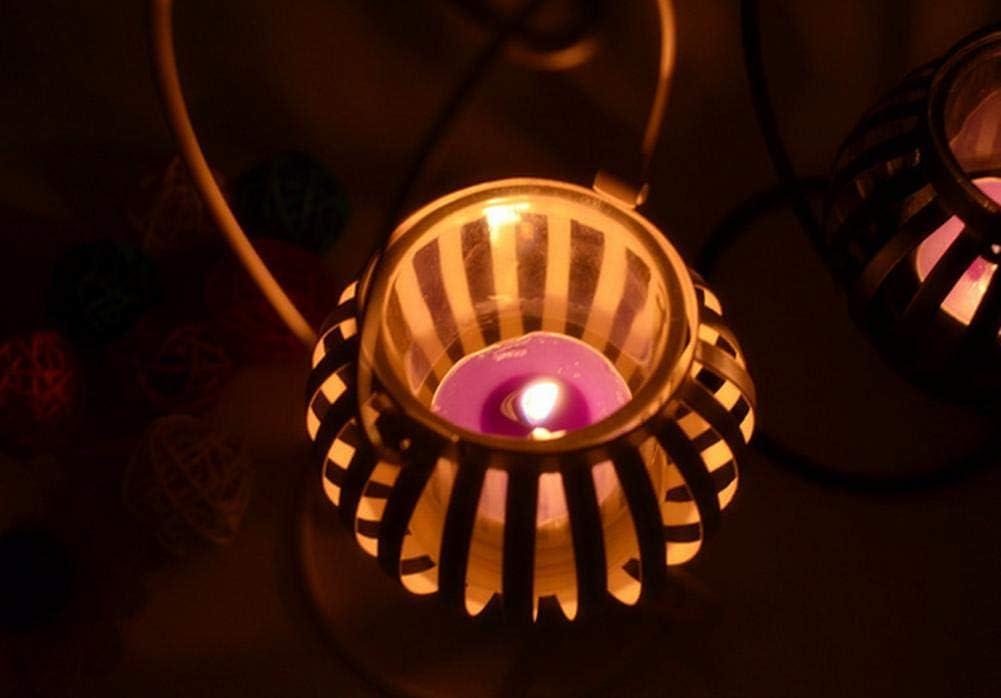 Bougie Parfum/ées en Cire de Soja Naturelle Kentop 9Pcs Bougie Parfum/ées en Pot pour Aromath/érapie Massage Soulager Le Stress