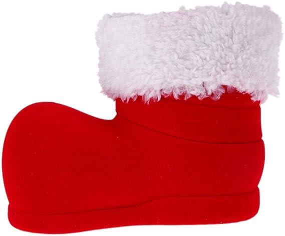 1pcs Gift Candy Christmas Shoes Xmas Decoration Tree Boots Stocking Hanging B6I7