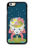 Ramen Alien with Noodle Soup Weird Funny Japanese Design case for iPhone 6 - Best Reviews Guide