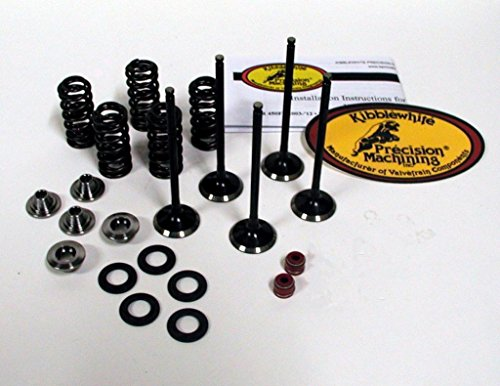 nd Exhaust Valves and Spring Kit Yamaha YZ 250F WR 250F 01-13 ()
