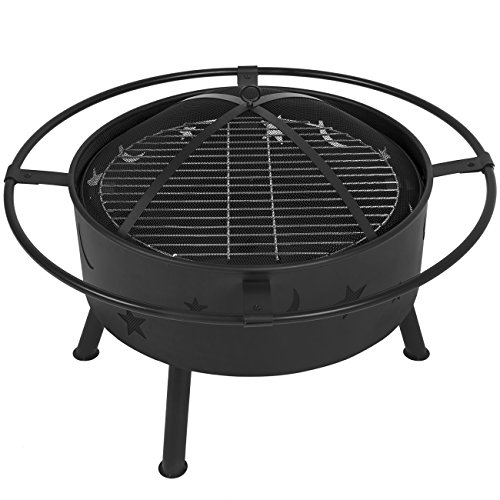 Best Choice Products 30 Quot Fire Pit Cooking Grill Firebowl