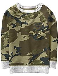 Toddler Boys' Crewneck Pullover Sweatshirt