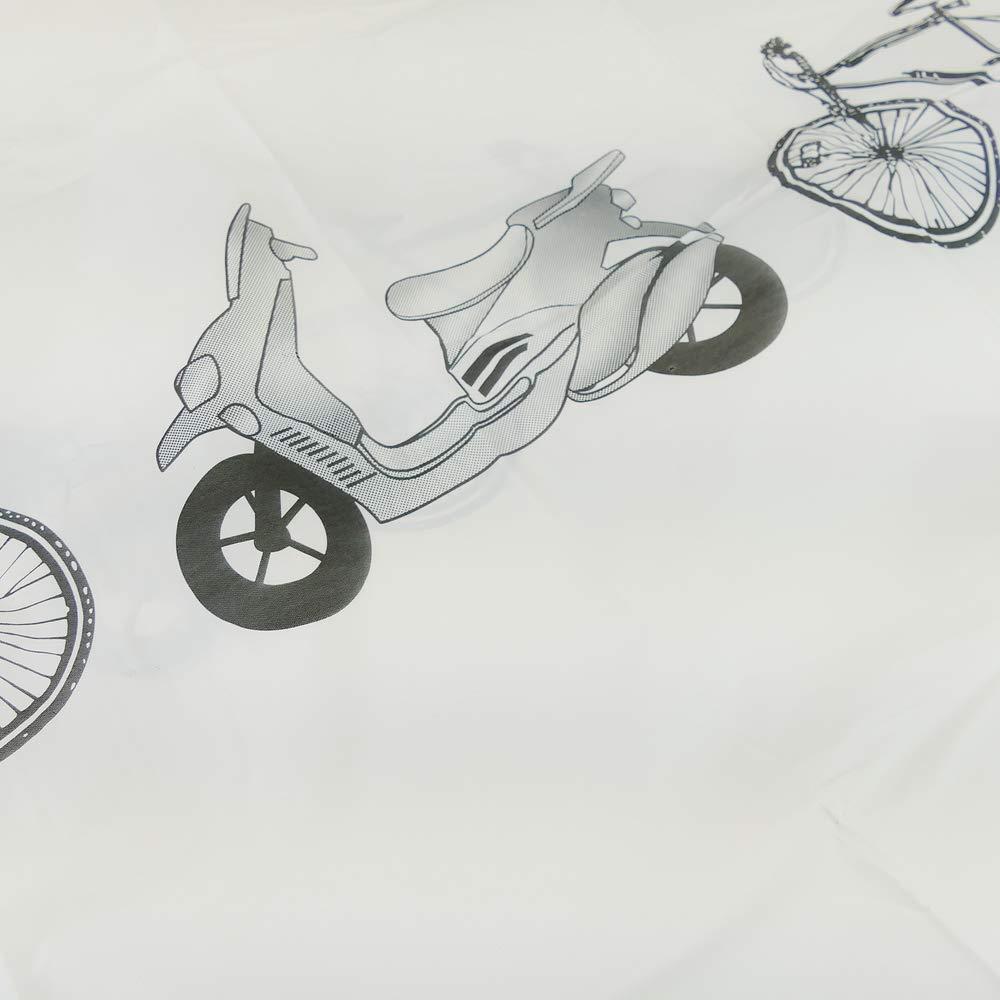 PrimeMatik Funda Cubierta Protector de Lluvia y Polvo para Bicicleta y Motocicleta
