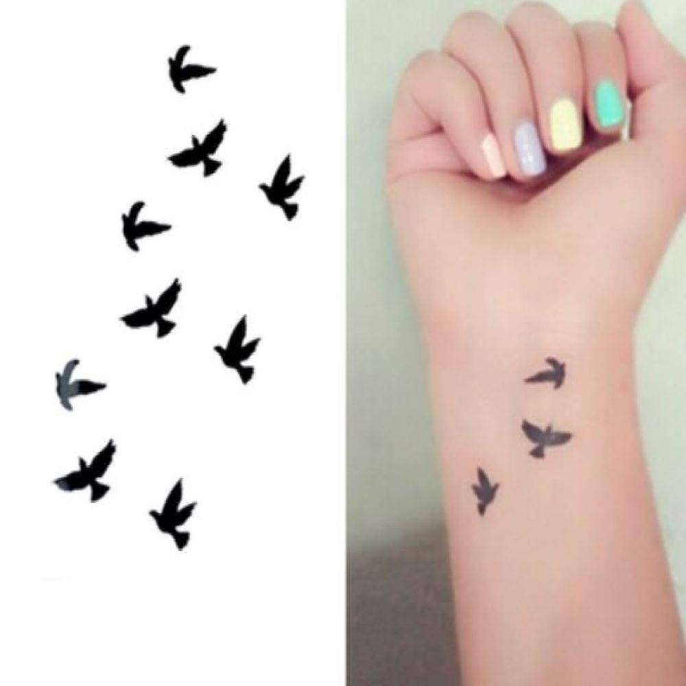 5Pcs- (Pedido mínimo $ 0.5) Tatuaje a prueba de agua Tatoo Tattoo ...