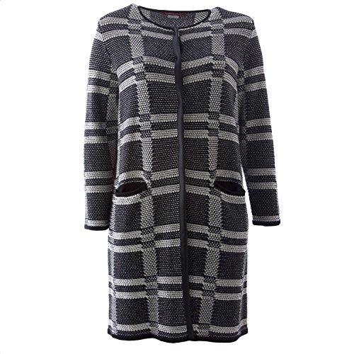 - Marina Rinaldi Women's Maesta Long Knit Cardigan XX-Large Black/White