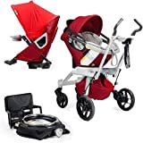 Orbit Baby Stroller Travel System G2 with Stroller Seat G2 Ruby Slate