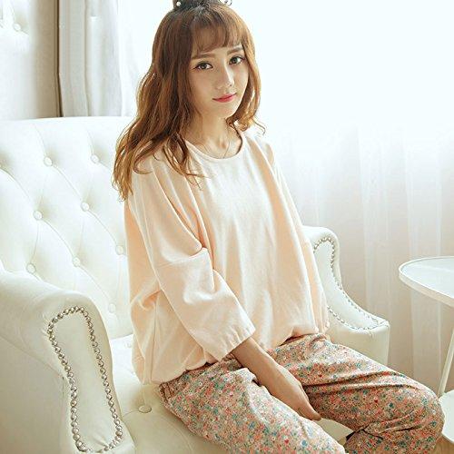 Syksdy 100% Algodón Mujer Pijama Para Mujer Pijama Feminino Pijama ...