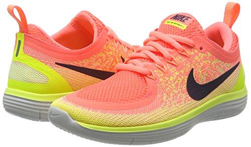 Glow barely Volt Mujer Raisin Running Para 2 Free Nike De Distance Rn lava Zapatillas dark Naranja 7PgBqaO