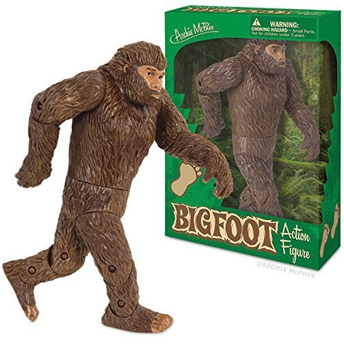 Bigfoot Action Figure Big Foot Sasquatch Yeti Toy Funny Gift Figurine by MyPartyShirt