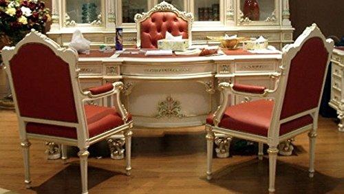 Barock Armlehner Stuhl Antik Stil Rokoko Vp9928