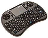 BlazeBox i8 Mini 2.4GHz Wireless Touchpad Keyboard Mouse for PC, Pad, Xbox, Playstation, Google Android Smart TV Box, HTPC, IPTV (Black) (Electronics)
