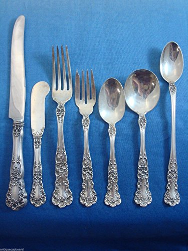 Buttercup by Gorham Sterling Silver Dinner Flatware Set For 18 Service 133 Pcs - Gorham Buttercup Dinner