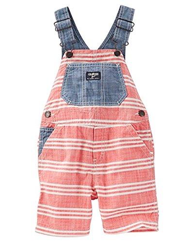 OshKosh Baby Boys Americana Shortalls - (Size - 9 Months)