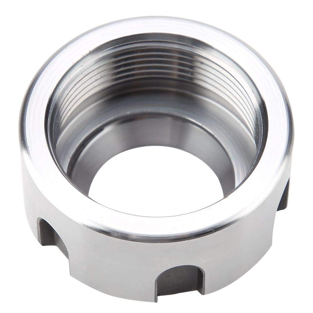 m321.5-White Rivet Nut Kit,1pcs ER25UM Dynamic Balancing nut Metal Collet Nut Chuck Holder Lathe