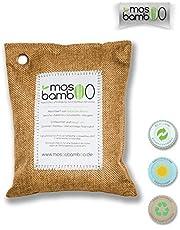 mosoobamboo Plantillas de carbón Activo de bambú contra el Olor de los pies | Eliminador de olores para Las Tallas 36-43,5