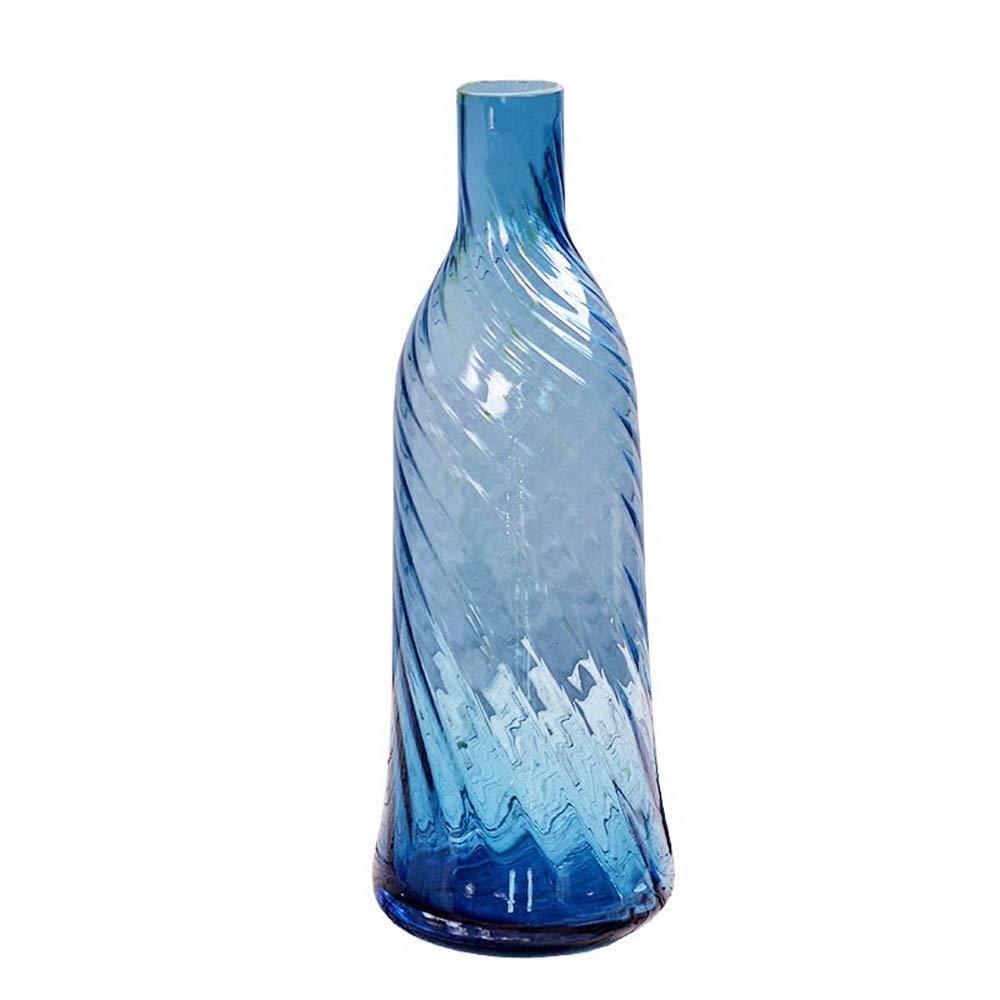 色ガラス花瓶用花緑植物結婚式の植木鉢装飾ホームオフィスデスク花瓶花バスケットフロア花瓶 B07QTY3FT9