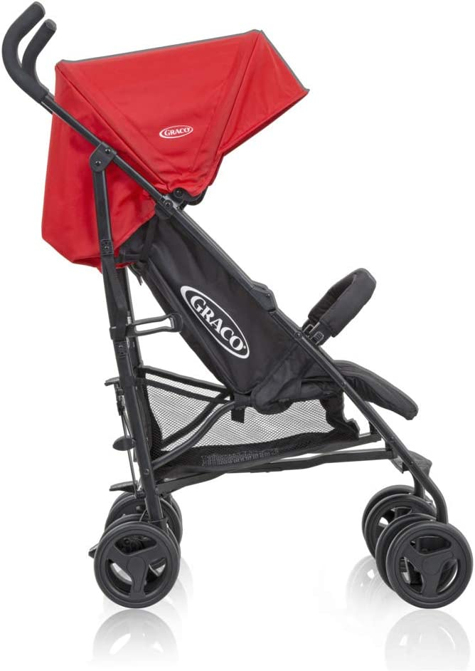 Birth to 3 Years Approx, 0-15 kg Graco TraveLite Pushchair//Stroller Lightweight with Compact Fold Chili