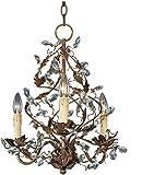 Maxim Lighting 2850EG Elegante - Three Light Chandelier, Etruscan Gold Finish