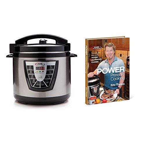 Power Pressure Cooker XL 6Qt with Power Pressure Cooking Cookbook